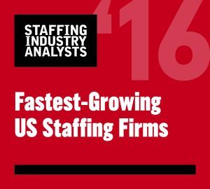 2016 Fastest-Growing US Staffing Firms