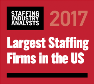 2017 Largest Staffing Firms