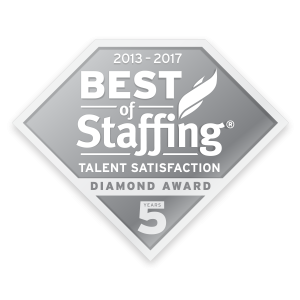 Best of Staffing® Talent Diamond Award