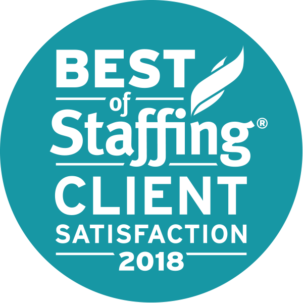 Inavero 2018 Best of Staffing® Client Award