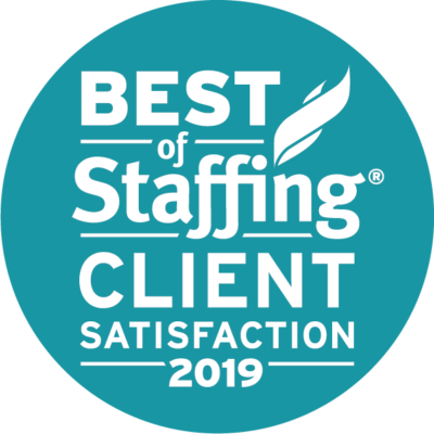 Best of Staffing 2019 Client Satisfaction Award