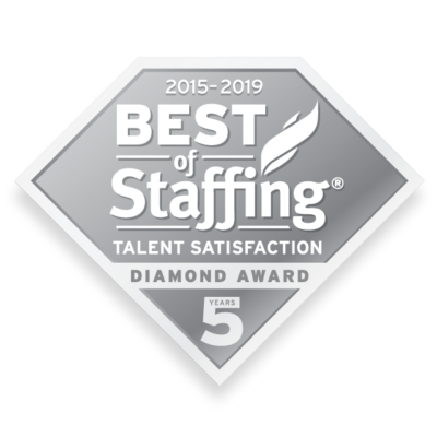 Best of Staffing 2019 Talent Diamond Award