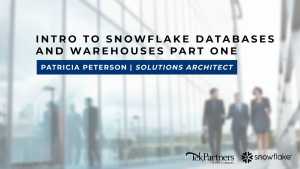 Intro to Snowflake Databases and Warehouses: Part One